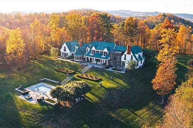 Sprawling French-Inspired Manor in Ligonier, Pennsylvania