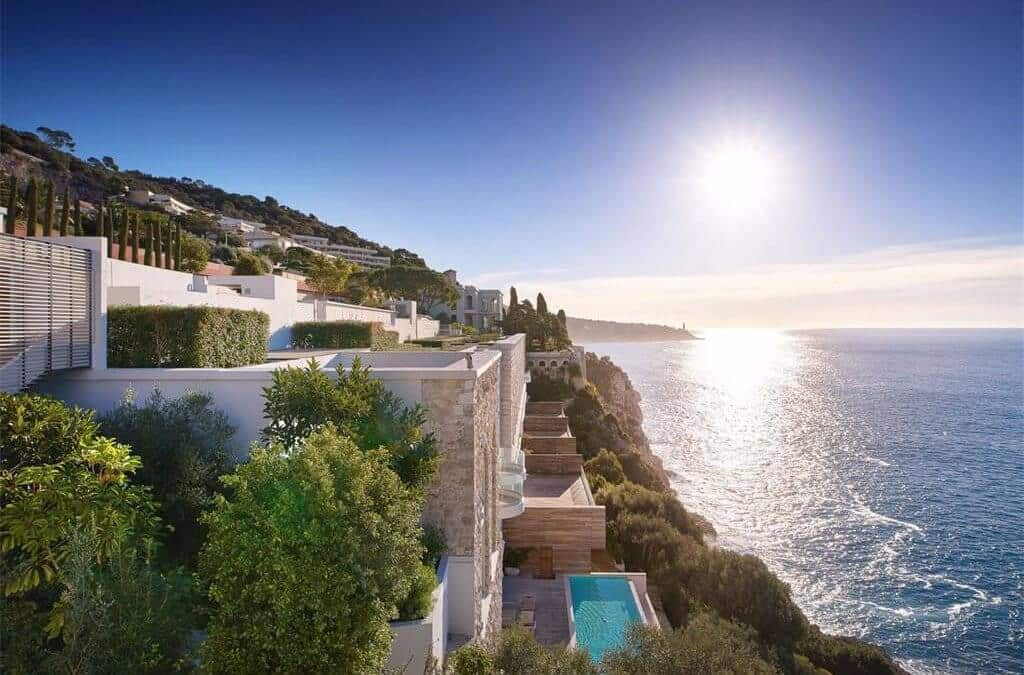 Endless ocean views on the French Riviera