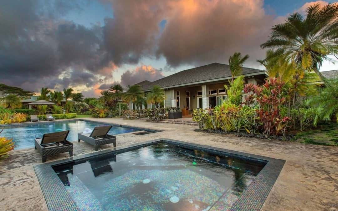 Stunning Private South Shore Ranch Estate in Omao, Kauai
