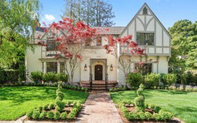 Stately Tudor Home, Palo Alto
