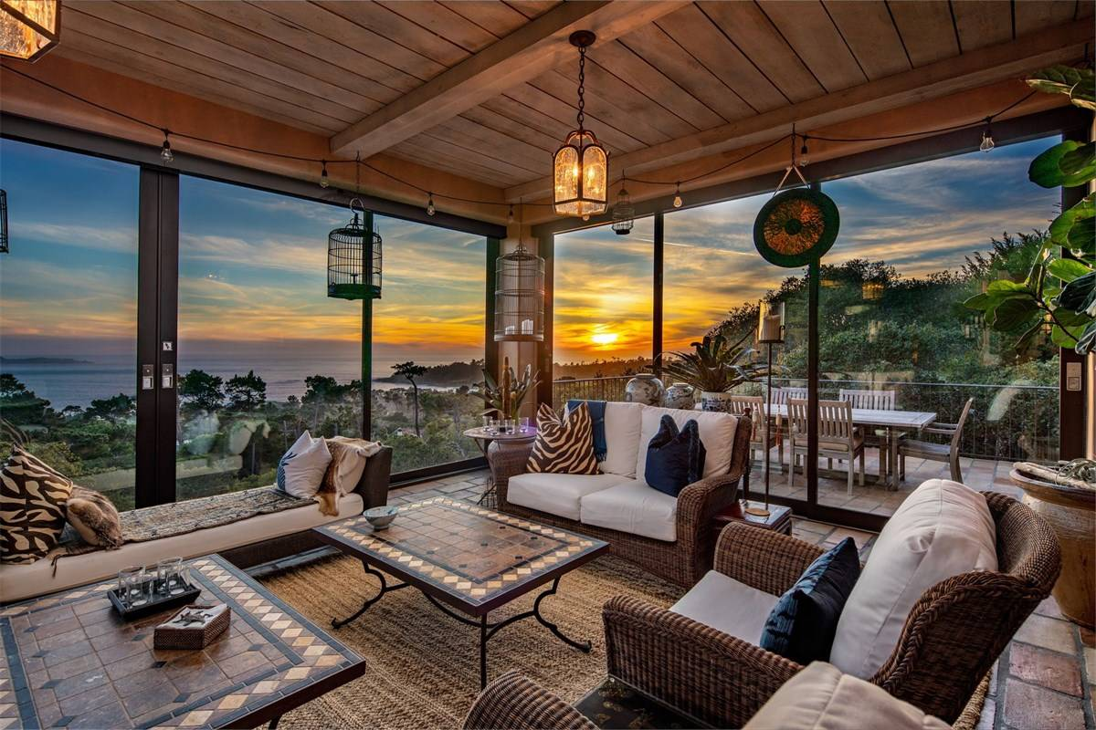 Sweeping Views in Pebble Beach